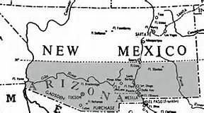 Confed Arizona map