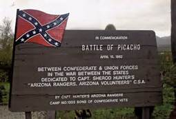 Picacho sign