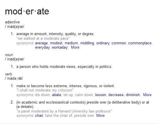 moderate def