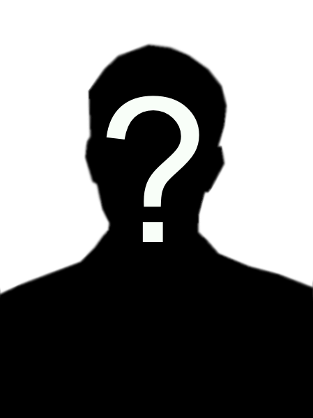 Mark Morrison, candida... Blank Profile Picture With Question Mark