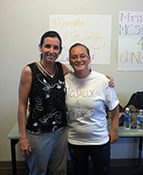 McSally and volunteer, Sept. 2012