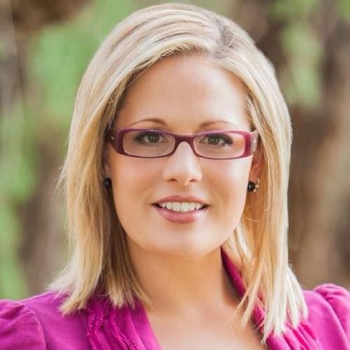 US Senate candidate Kyrsten Sinema