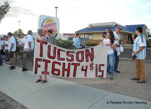 Tucson Fast Food Strike