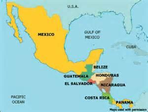 Mex CA Map