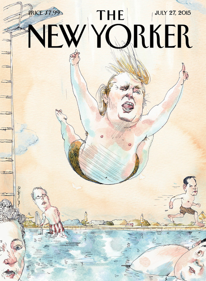Donald Trump Cover Story of New Yorker Magazine   Opinion ...