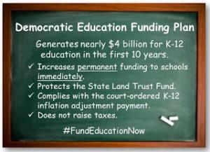 Democratic ED Funding Plan