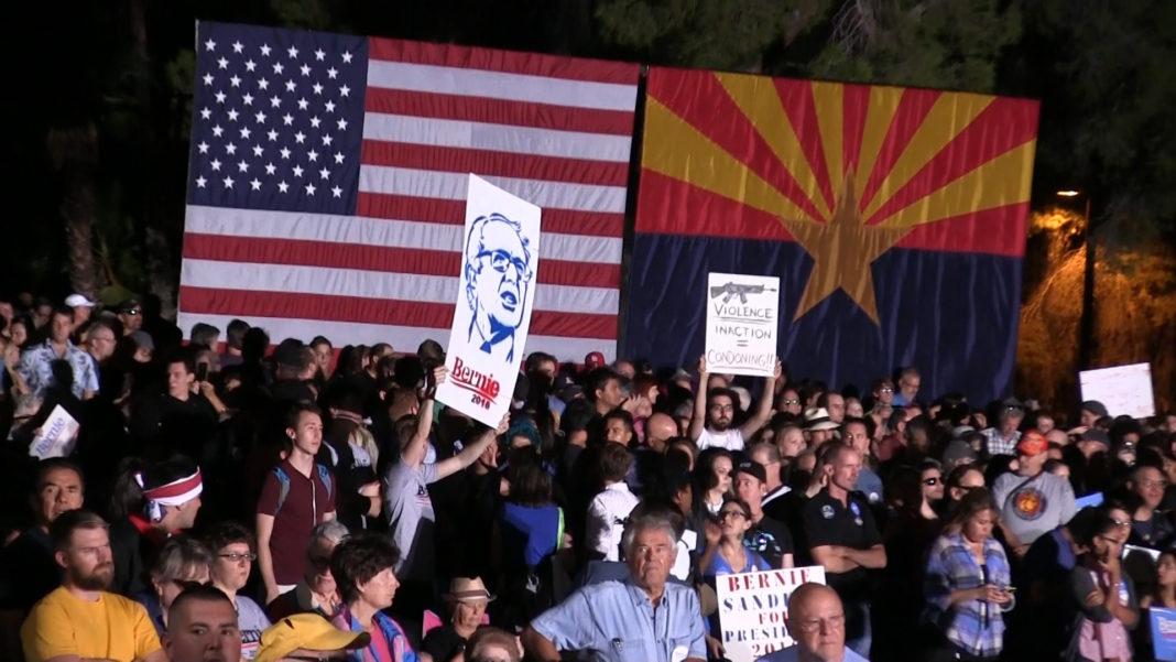 Bernie Sanders Rally in Tucson