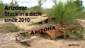 Arizona: Stuck in a Ditch