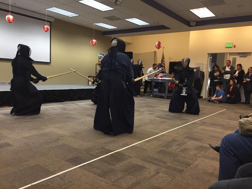 Tucson Kendo Kai performance (photo credit: Teena Werley)