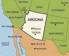 AZ Mex Map