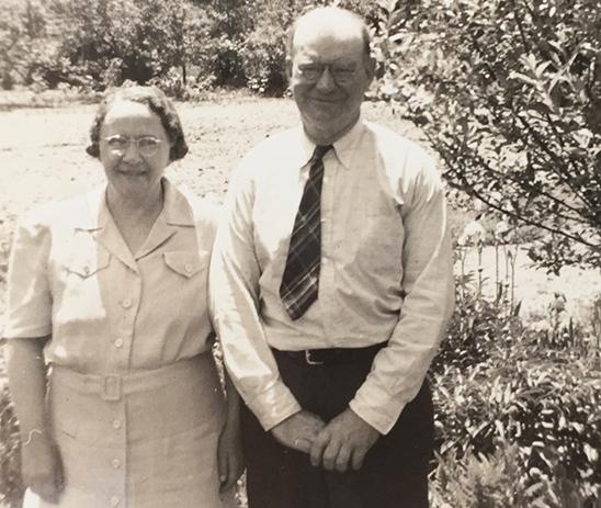 Emma and William Springer