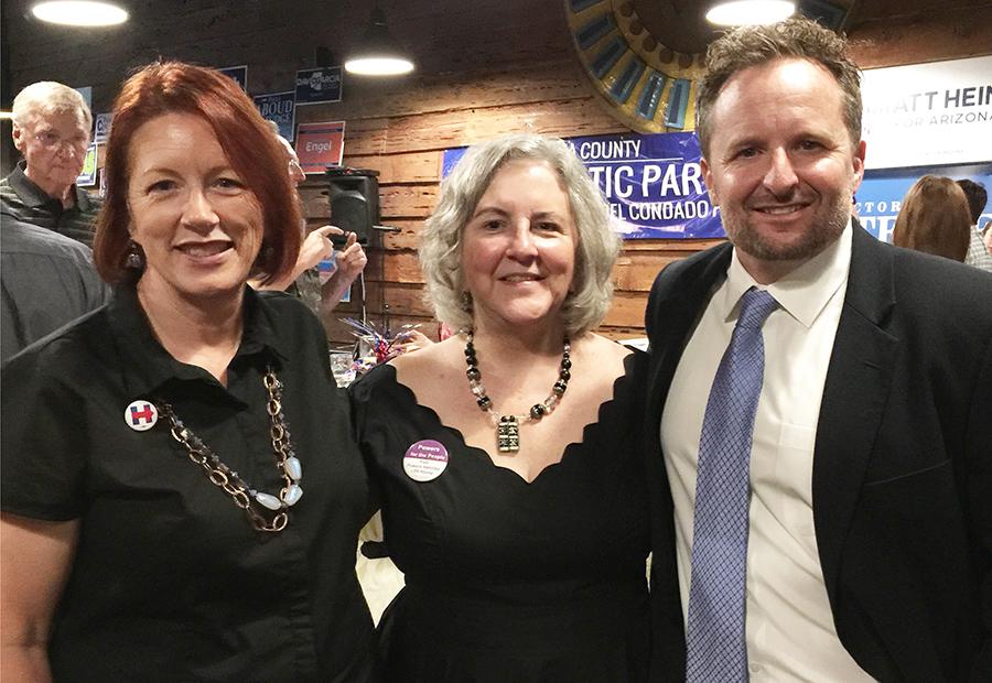 Jo Holt, Pamela Powers Hannley, Dustin Williams