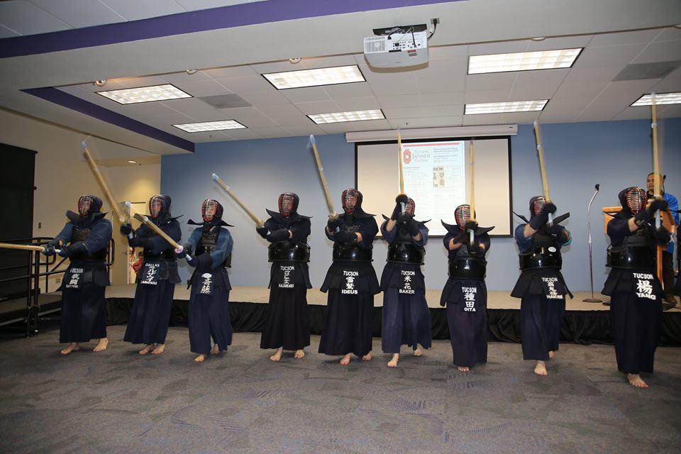 Tucson Kendo Kai performing this skill