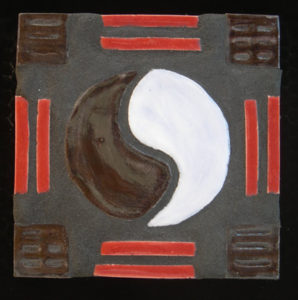 The Yin and Yang mosaic