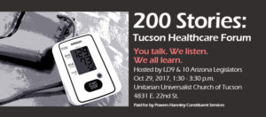 200 Stories: Tucson Healthcare Forum