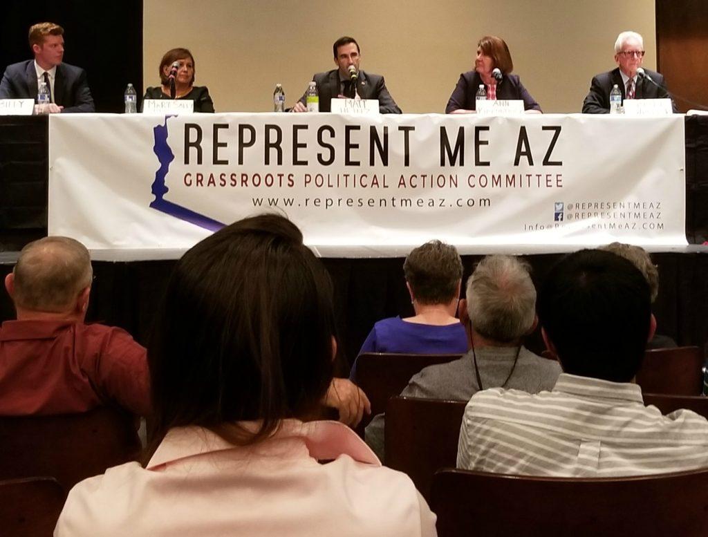 Bill Kovacs, Mary Matiella, Matt Heintz, Ann Kirkpatrick and Bruce Wheeler.