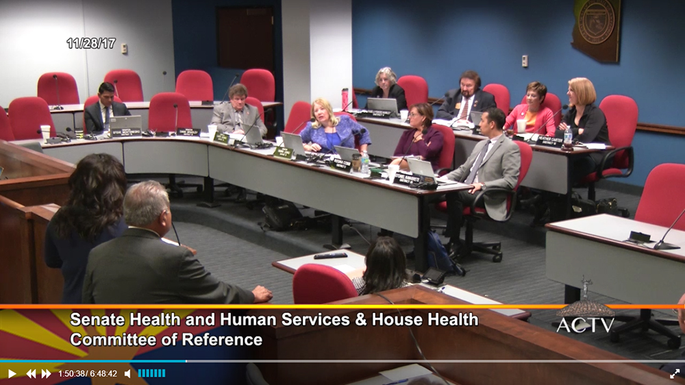Joint Health Committee Meeting