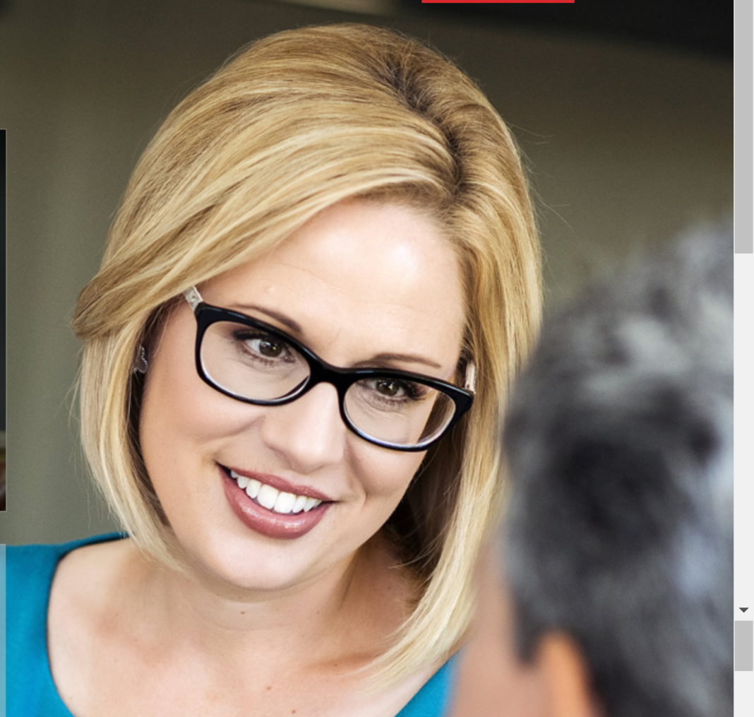 Kyrsten Sinema Stakes Out 5 Positions In Us Senate Race  U2013 Blog For Arizona