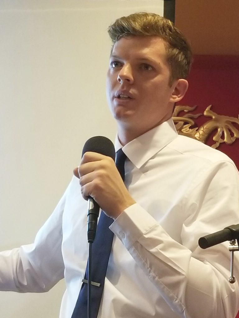 Democratic Congressional Candidate Billy Kovacs
