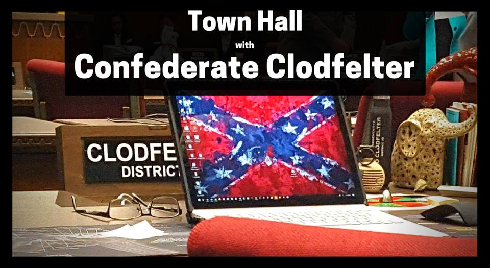 Confront Confederate Clodfelter @ Miller-Golf Links branch library | Tucson | Arizona | United States