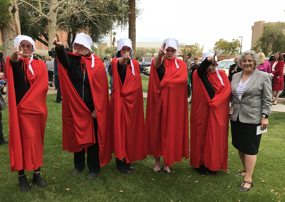 Handmaids in Arizona
