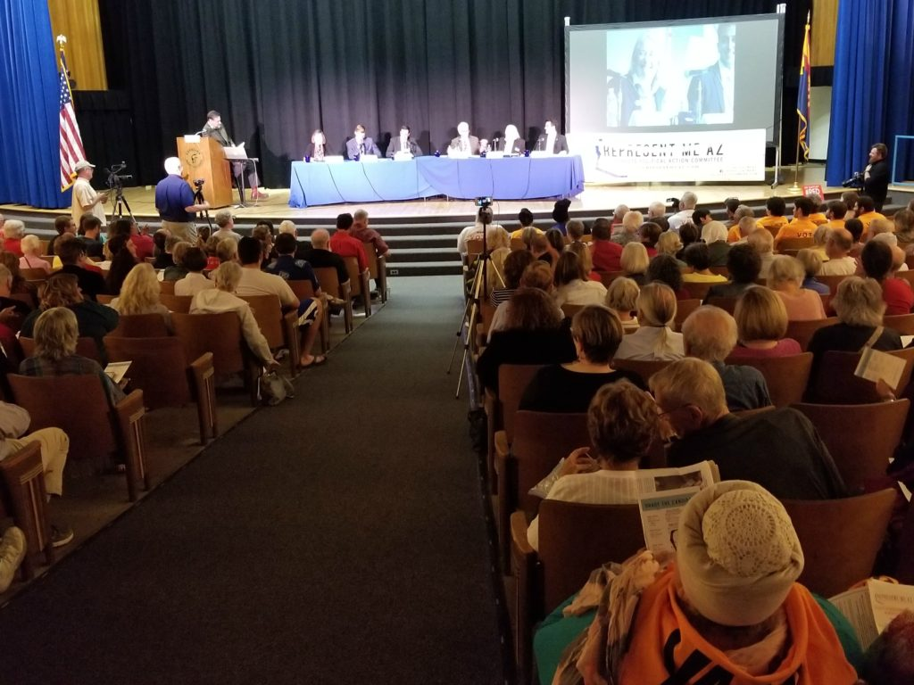 March 3, 2018 forum audience