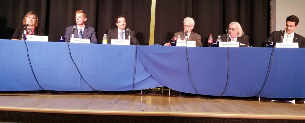 CD2 Candidates at May 3, 2018 forum