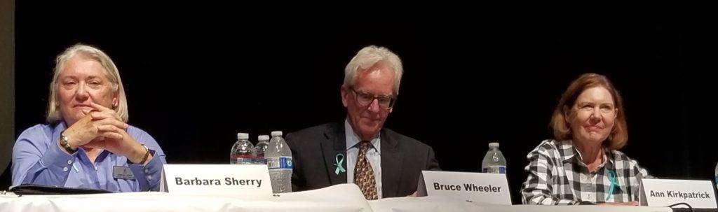 CD2 candidates Barbara Sherry, Bruce Wheeler and Ann Kirkpatrick