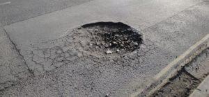 Pothole bad roads Pima County