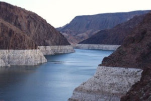 Lake Meade is only 37% full. As its level drops, Arizona's water supply will be cut.