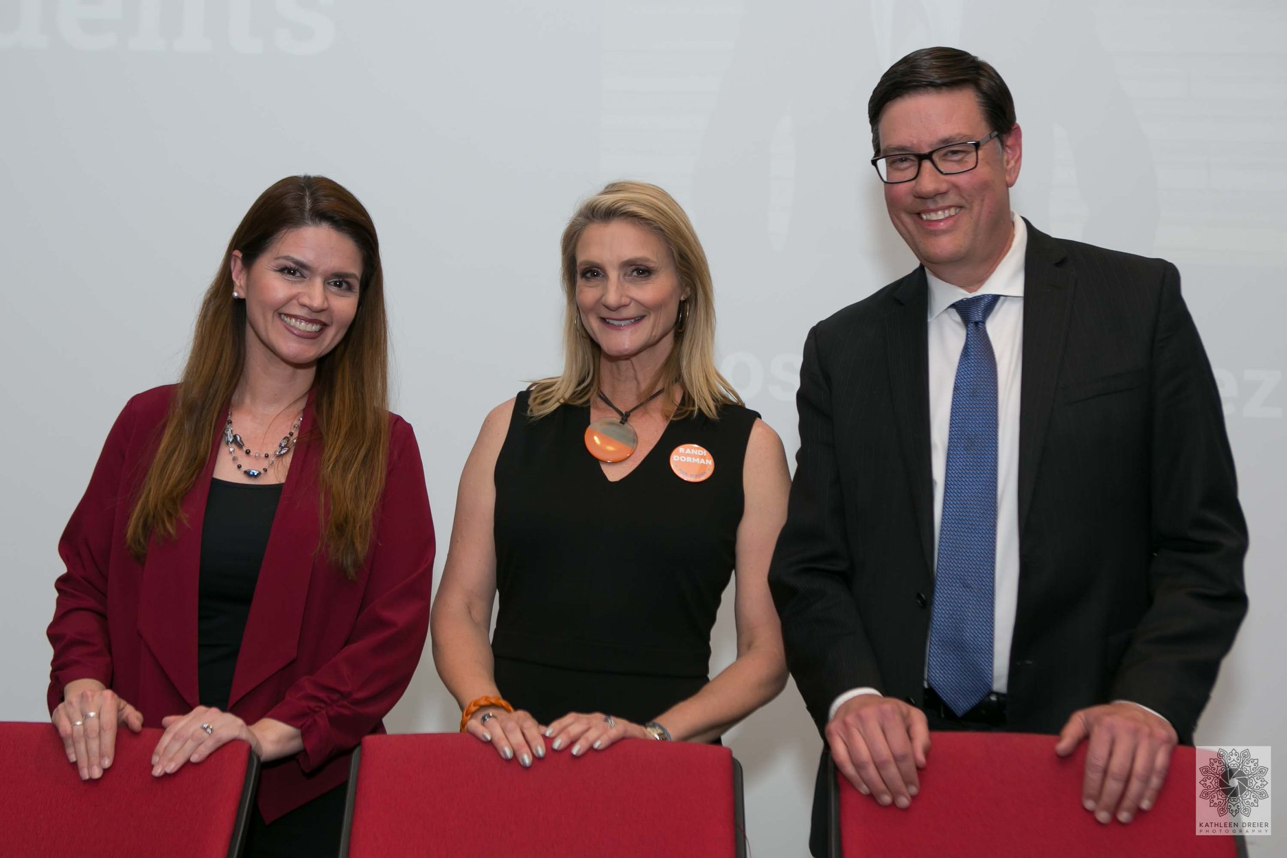 Mayoral candidates Regina Romero, Randi Dorman, and Steve Farley © Kathleen Dreier Photography