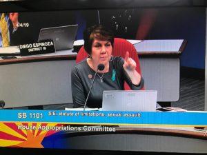 Minority Leader Charlene Fernandez