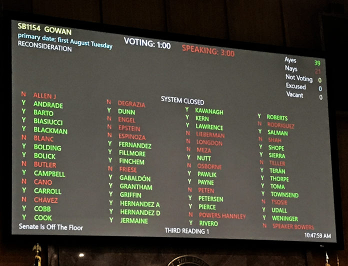 AZ House vote SB1154