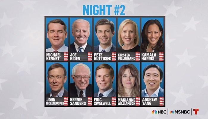 Democratic Presidential Debates