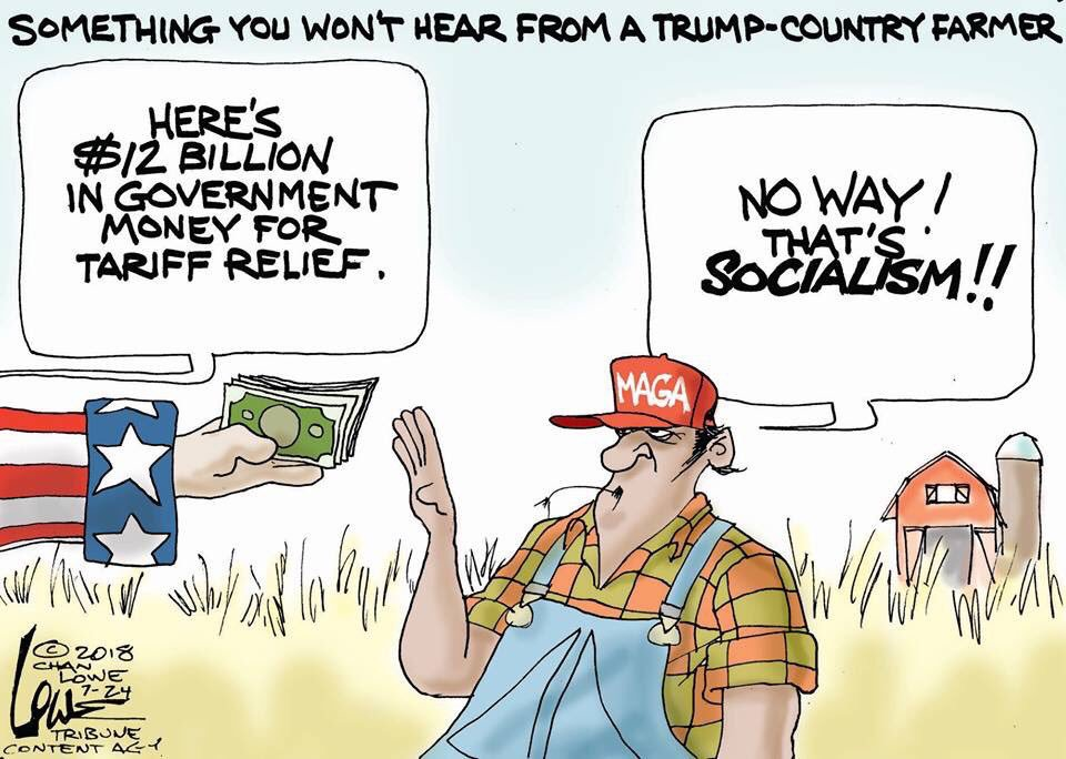 GOP Socialism: Farm Bailouts Are Back! (Bribery For Votes)