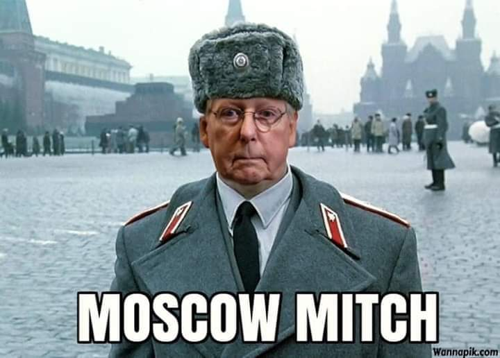 Moscow Mitch Does What He Knows Best: Betray the American People