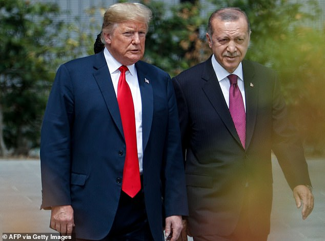 Donald Trump Intervened In A Criminal Investigation On Behalf Of Recep Erdogan