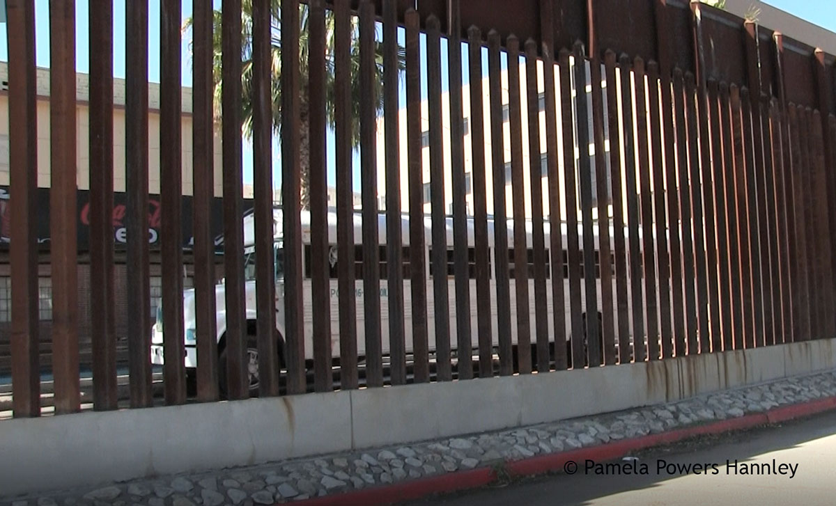 US-Mexico Border Wall in Nogales