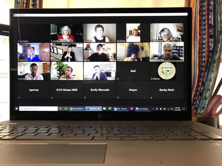 Arizona House HHS online meeting
