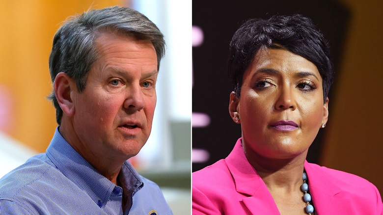Georgia Governor Brian Kemp is a Science Denying Anti Democratic Lunatic