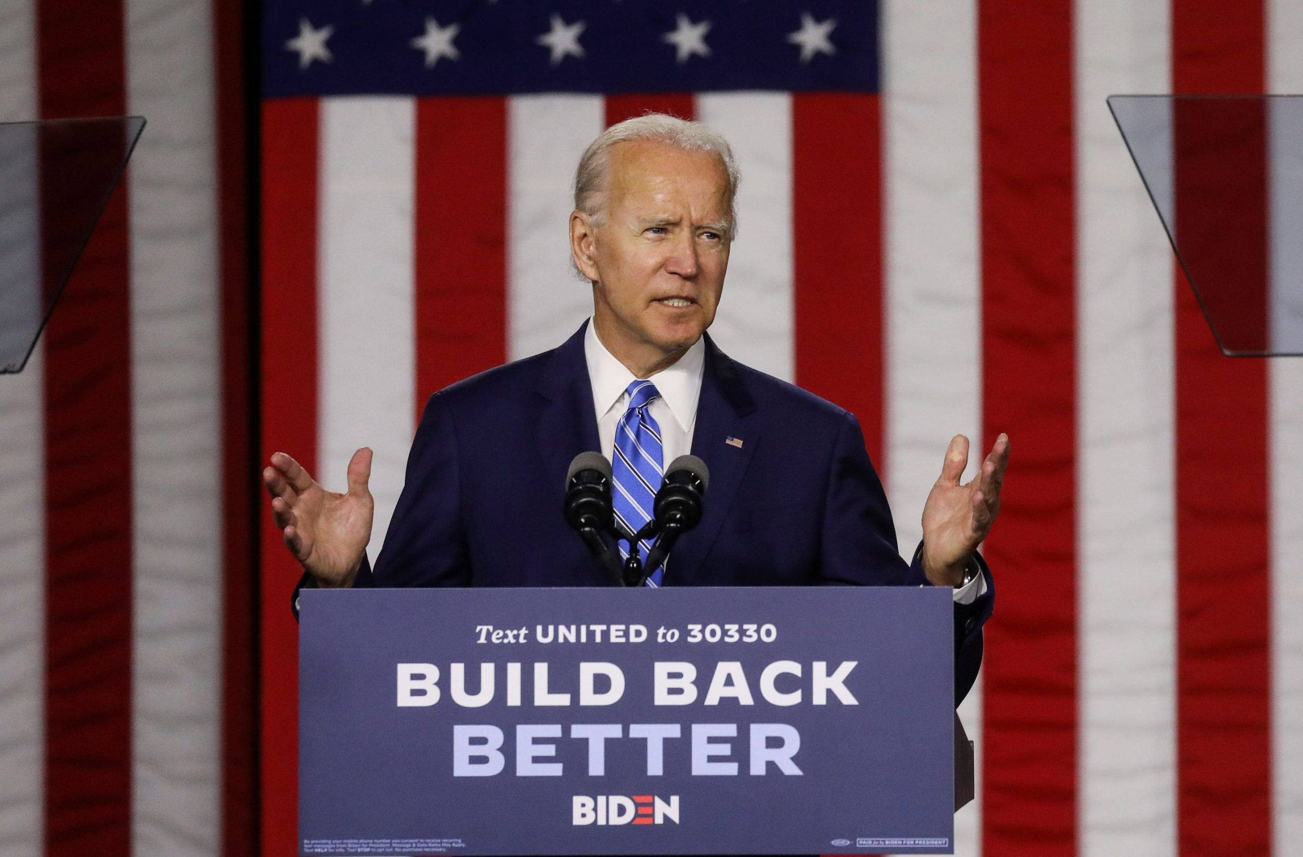 "Saying Donald Trump ""has quit on you,"" Joe Biden unveils a $775 Billion Child and Senior Caregiving Build Back Better Plan"