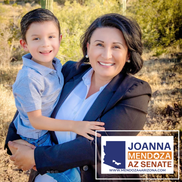 JoAnna Mendoza wants to be a Servant Leader for the people of Arizona Legislative District 11