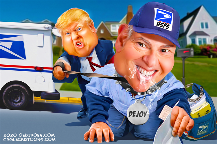 Trump's Toady Postmaster General Louis DeJoy Is Still Slowing Down The Mail