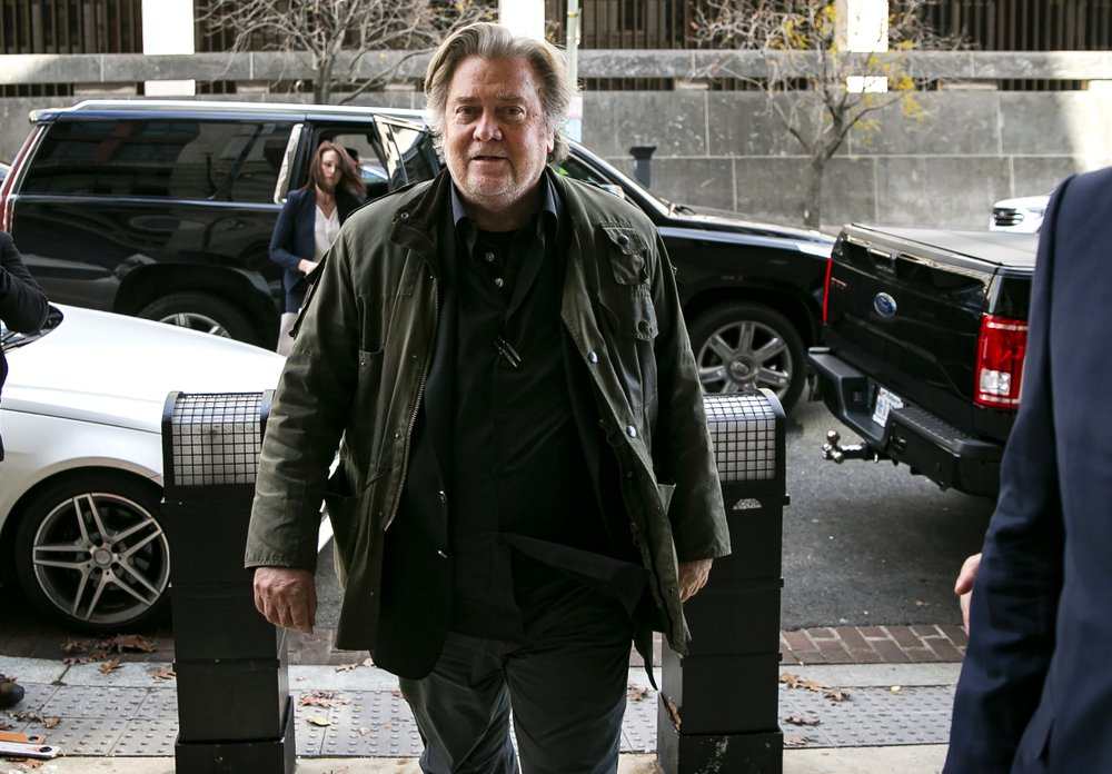 Steve Bannon arrested for border wall scam