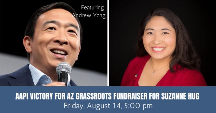 Andrew Yang Hosts Virtual Fundraiser Friday for Suzanne Hug for House LD 25
