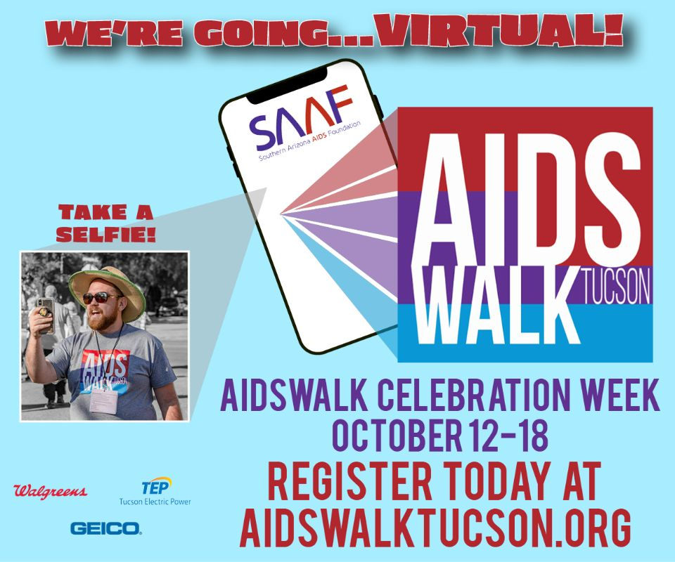 Aidswalk Tucson 2020 has gone virtual on Oct. 12 to 18
