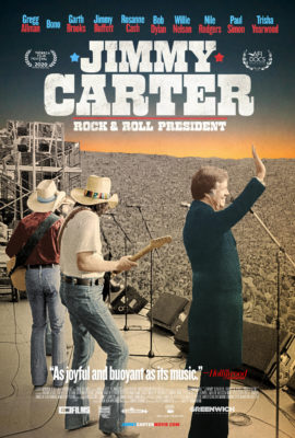 """Jimmy Carter"" Rock & Roll President"" starts livestreaming at the Loft Cinema on 9/11/20"