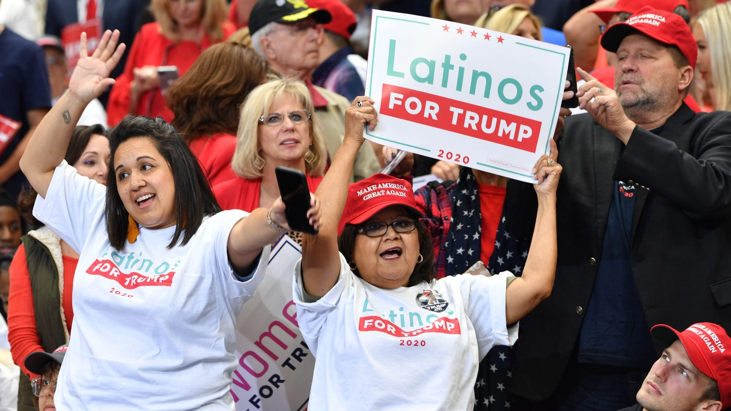 Republican Latinos For Trump?