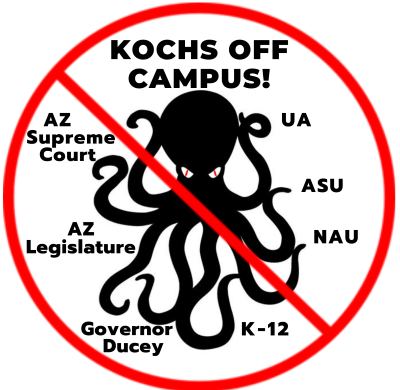 Kochs Off Campus! Defeats Freedom Center's Bid to  Make Pro-Republican Course a General Education Course