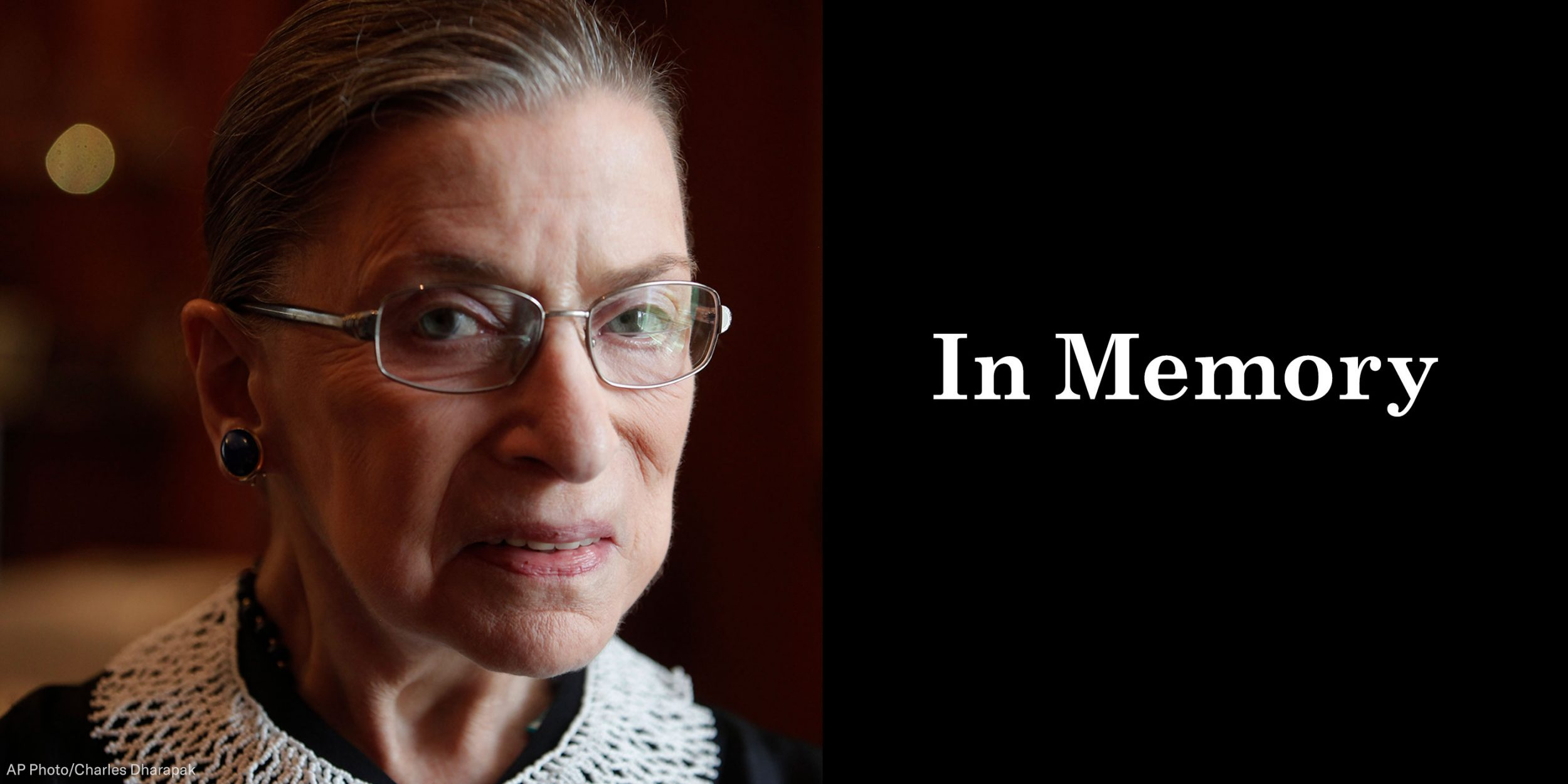 Memorial Ceremonies For Justice Ruth Bader Ginsburg